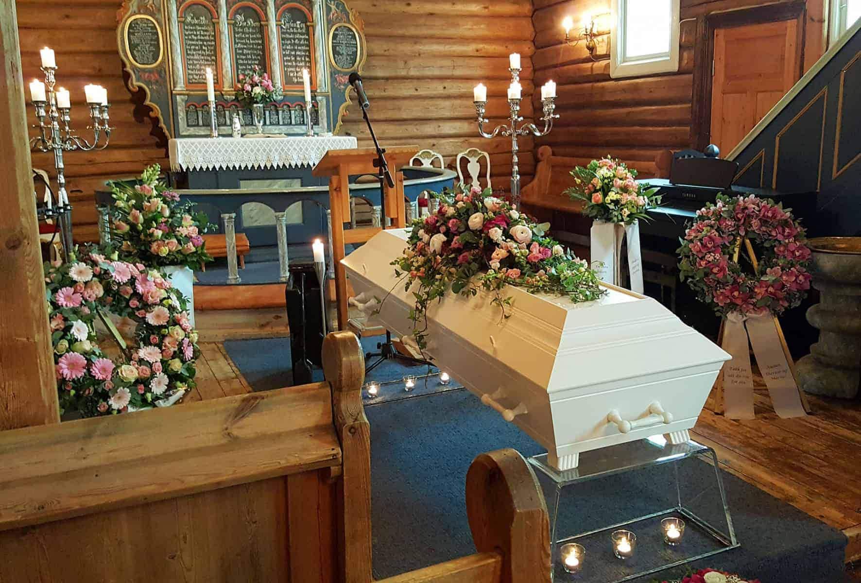 Begravelse, påkostet