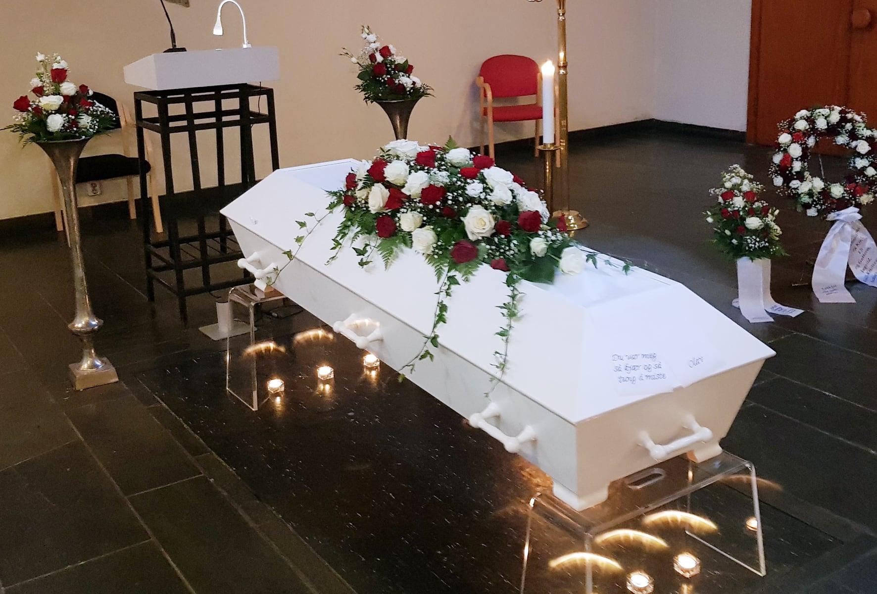 Begravelse, vanlig