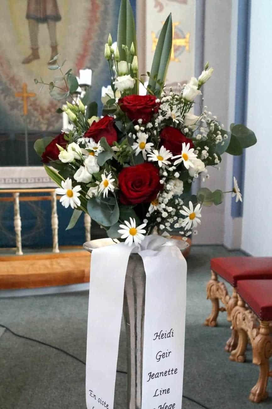 Bukett blomster 01