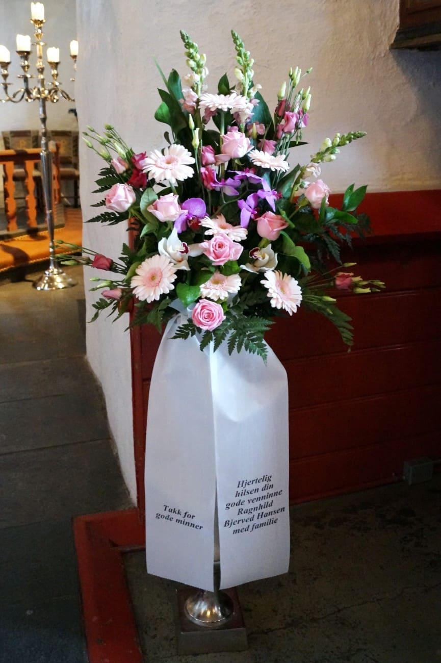 Bukett blomster 04