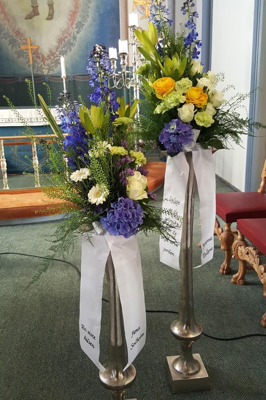 Bukett blomster 06
