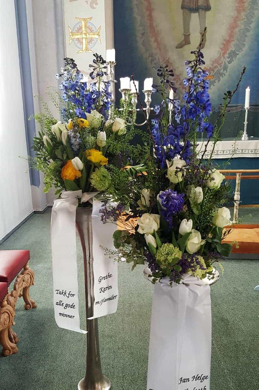 Bukett blomster 07