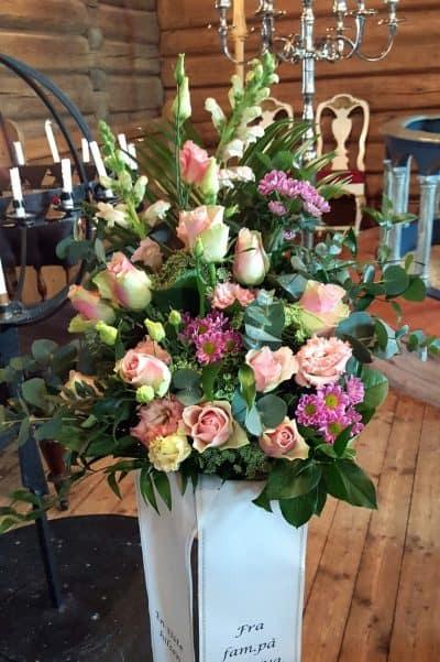 Bukett blomster 09