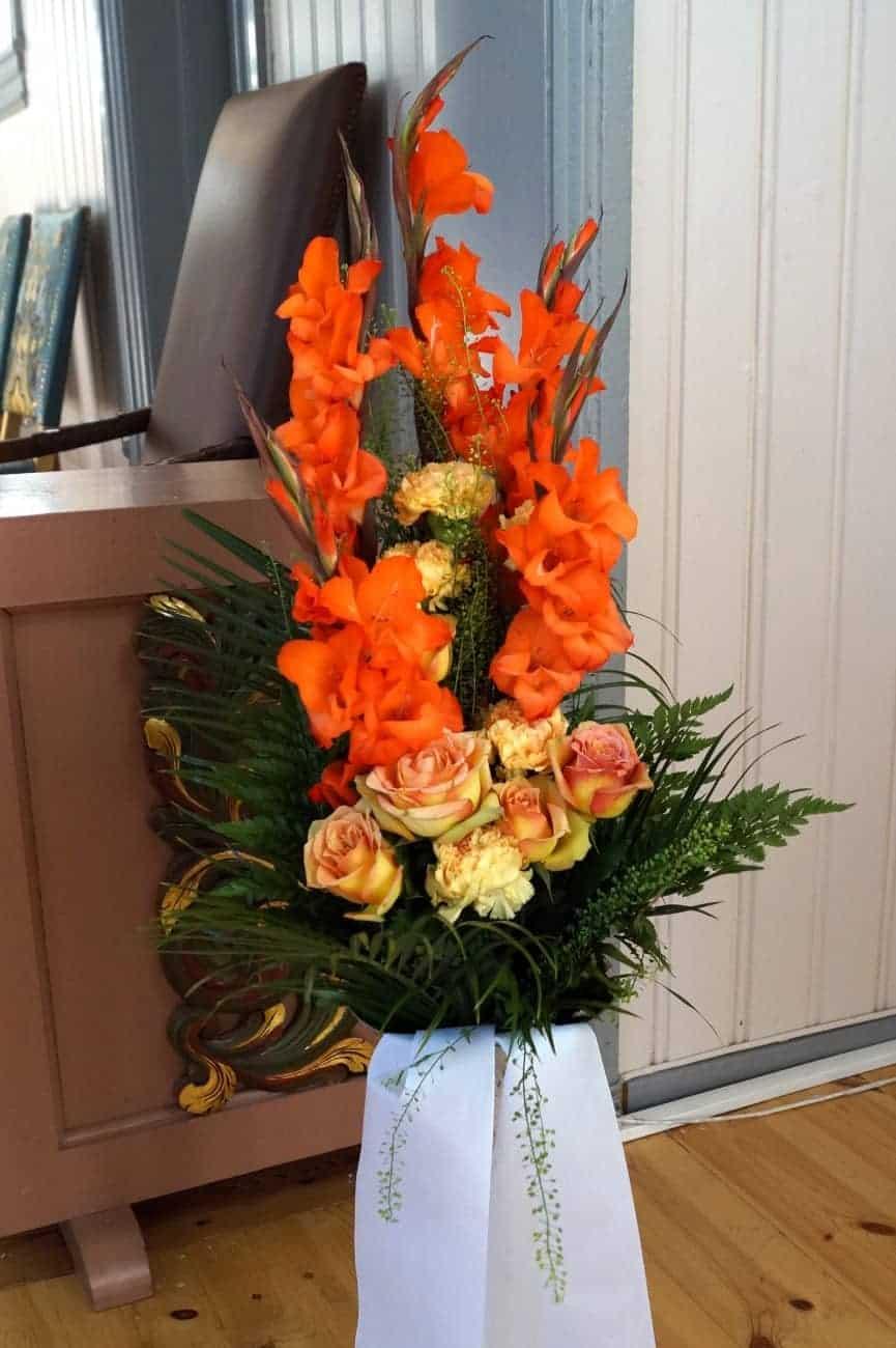 Bukett blomster 12