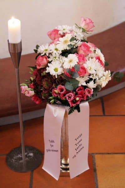 Bukett blomster 14