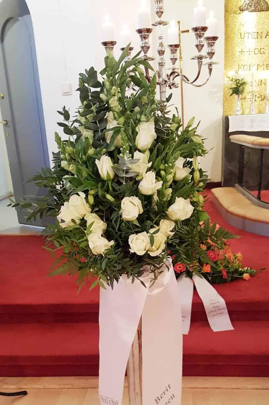 Bukett blomster 19