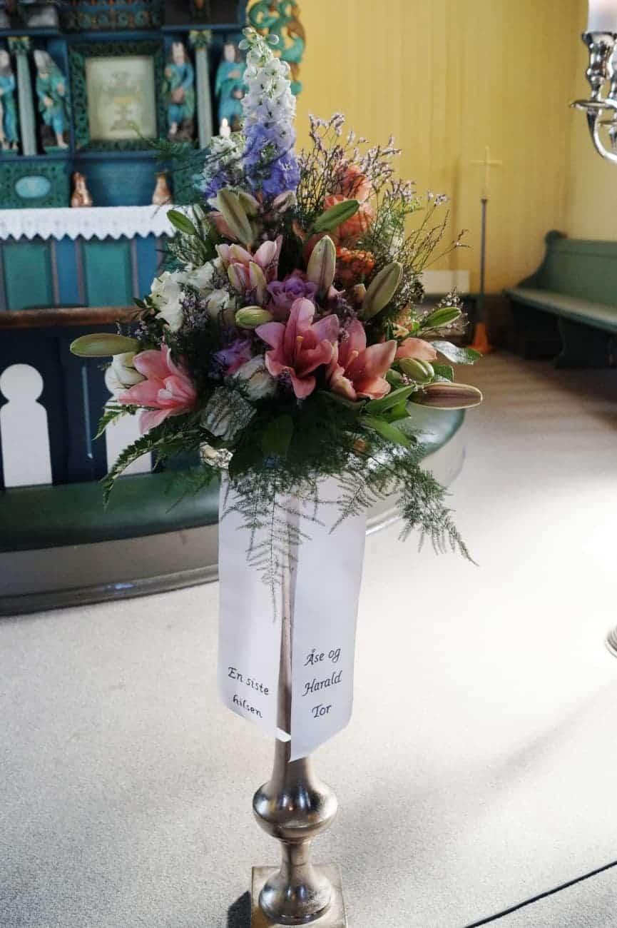 Bukett blomster 21