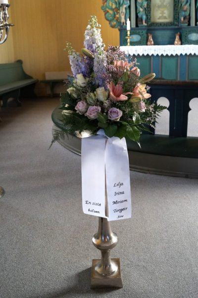 Bukett blomster 22