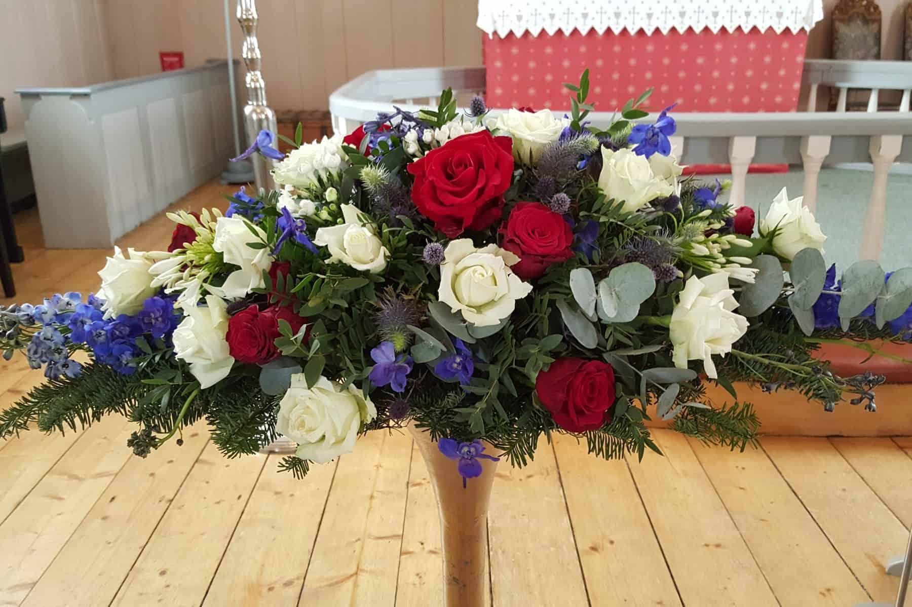 Dekorasjon blomster 04
