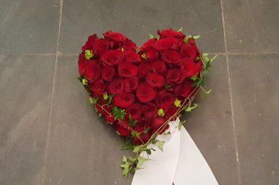 Hjerte blomster 04