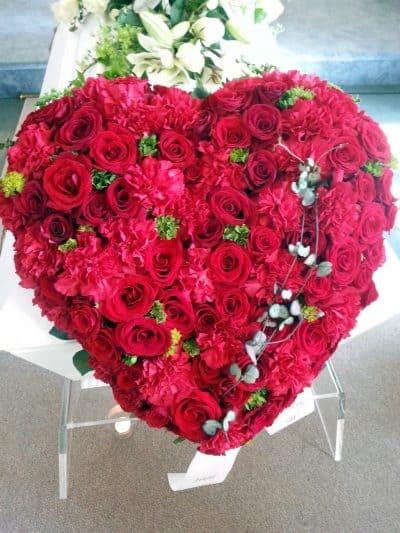 Hjerte blomster 06