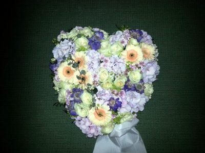 Hjerte blomster 07