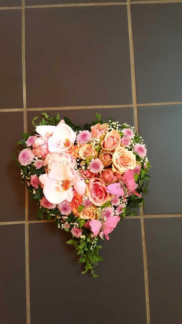 Hjerte blomster 08