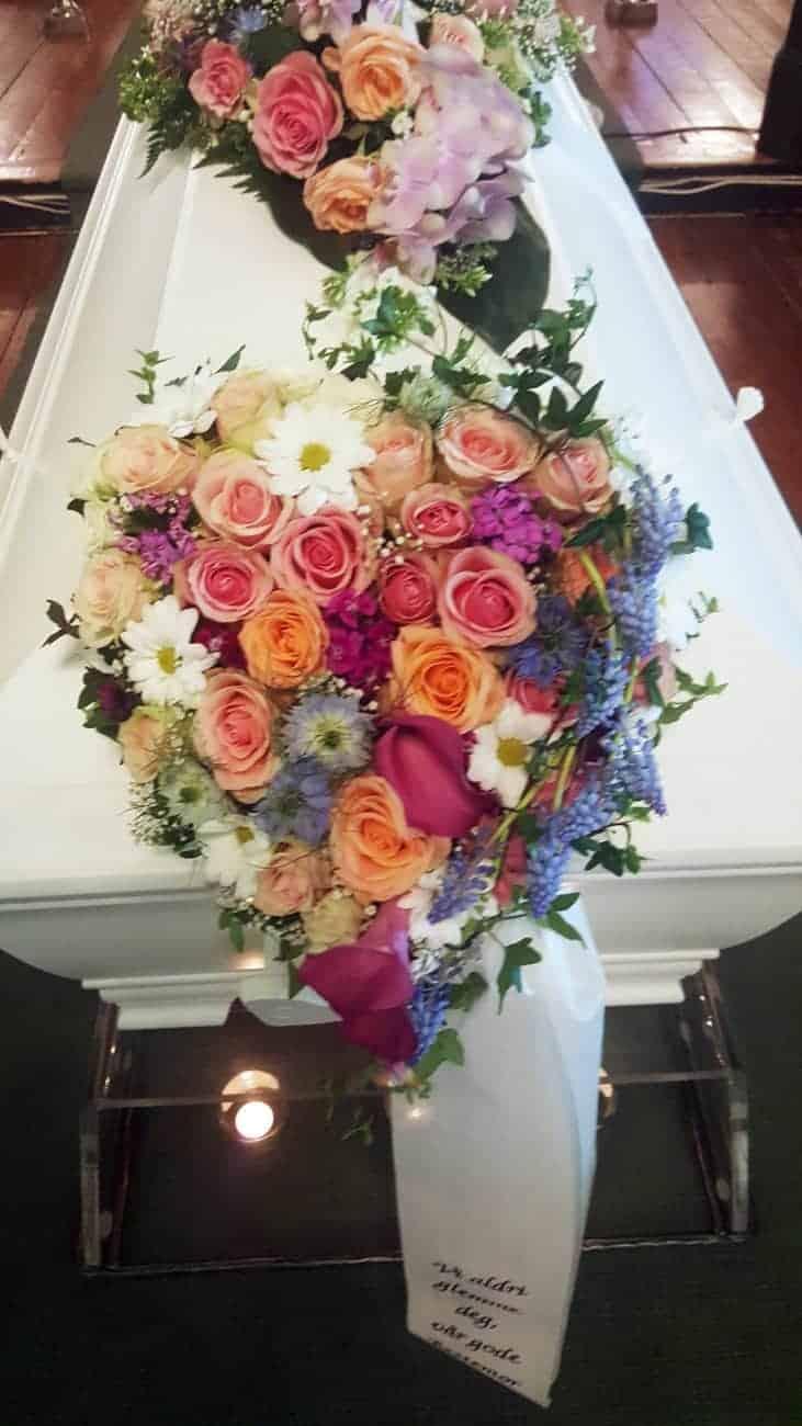 Hjerte blomster 10
