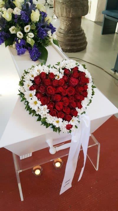 Hjerte blomster 12