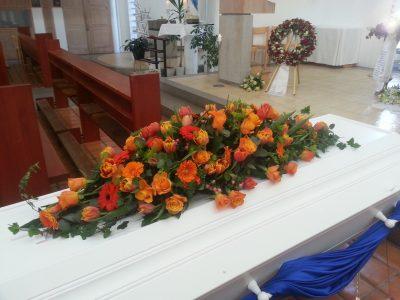 Kistedekorasjon blomster 11