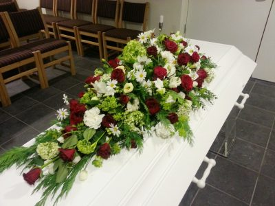Kistedekorasjon blomster 12