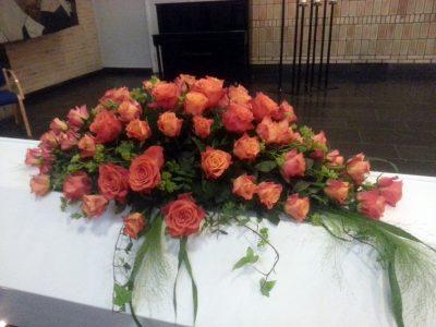 Kistedekorasjon blomster 22