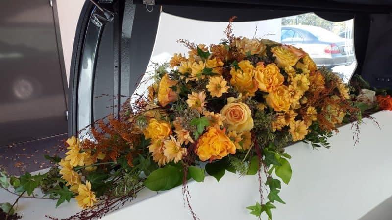 Kistedekorasjon blomster 41