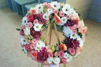 Krans blomster 01