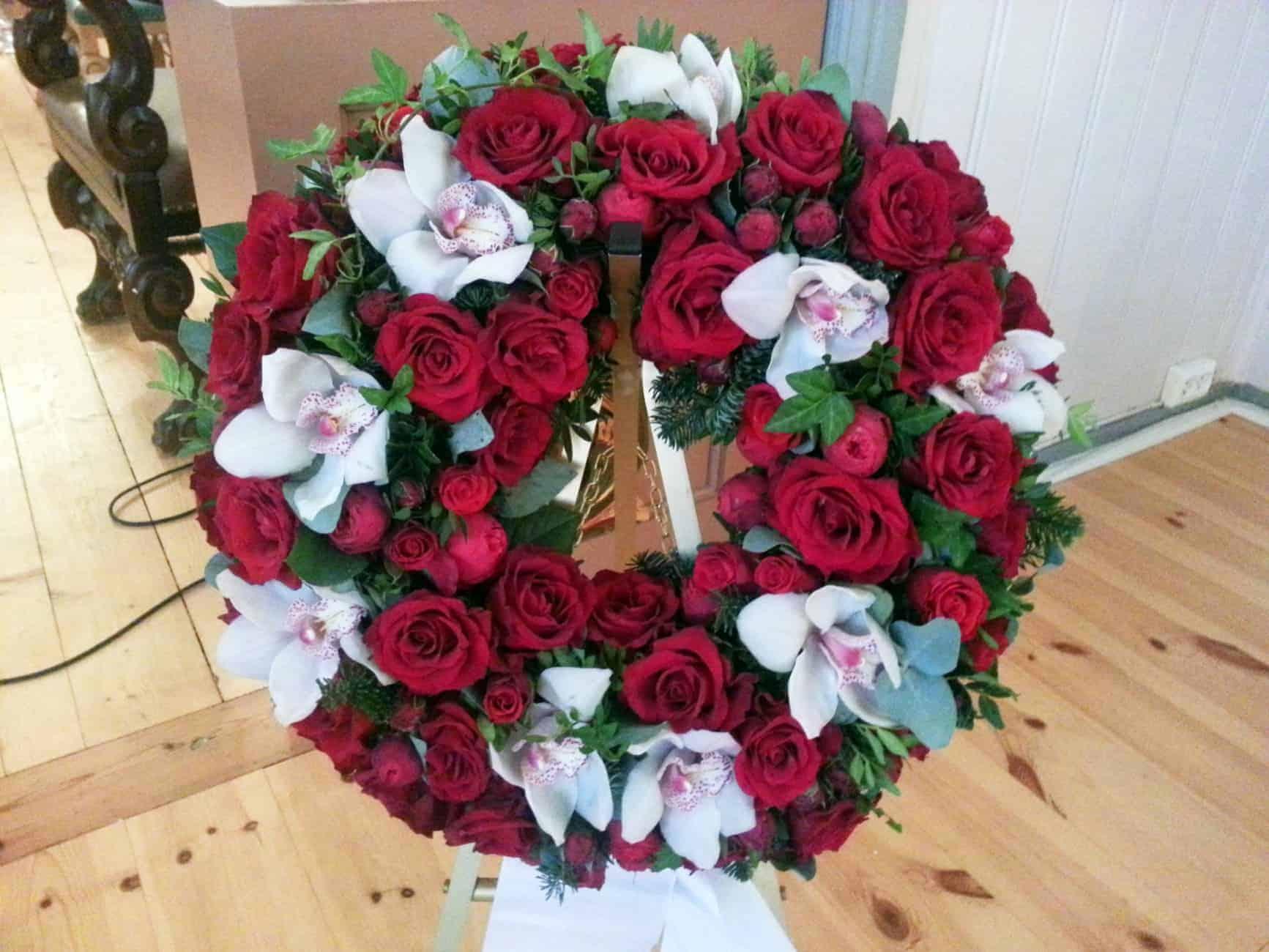 Krans blomster 03