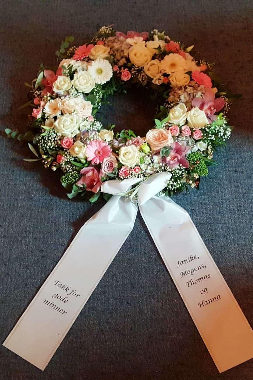 Krans blomster 15
