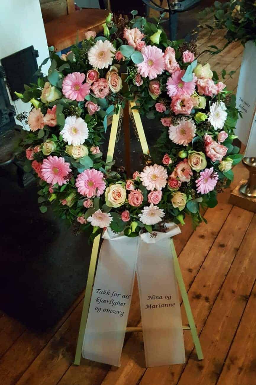 Krans blomster 17