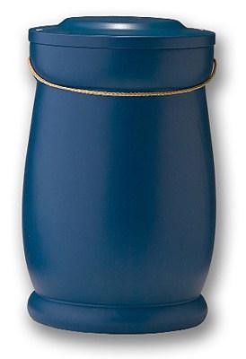 Skagerrakblå urne